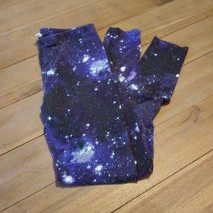 Pink Republic Space Galaxy Leggings